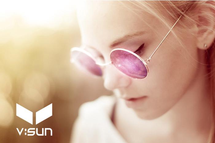 [공식본사정품] 브이선 FLAC 헤리티지 명품 뿔테 2커브 AR 미러 선글라스 FLAC-01 / V:SUN / 트리시클로